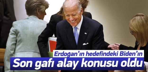 Joe Biden gaf yaptı alay konusu oldu!