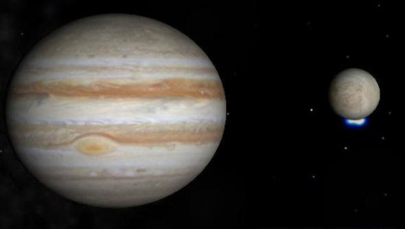 Jüpiter'in uydusunda yaşam izi olabilir...