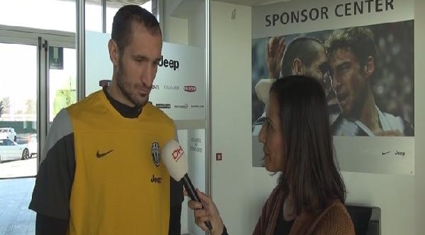 Juventus'un Yildizi Chiellini Dha'ya Konuştu