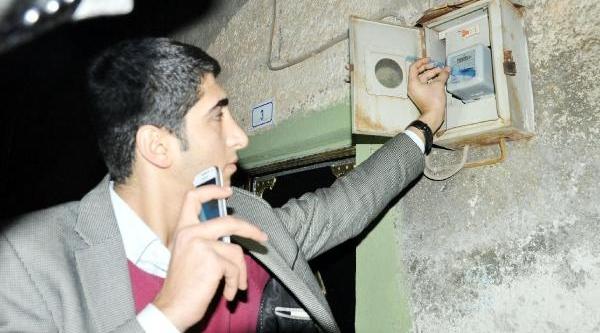 Kaçak Elektrik Kullanimina Gece Baskini