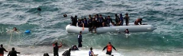 Kaçaklar Umuda 500 Metre Kala Yakalandı