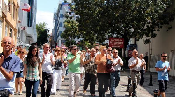 Kadıköy'de İmam Hatip Protestosu