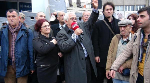 Kadıköy'de Temsili Para Kasalarıyla Yürüdüler