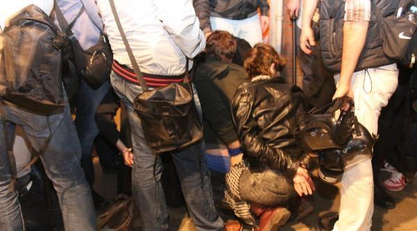 Kadıköy'deki Soma Eyleminde 22 Kişi Gözaltına Alındı