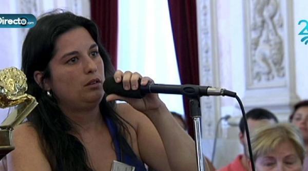 Kadın Aday Adayı İspanya'da Günün Konusu