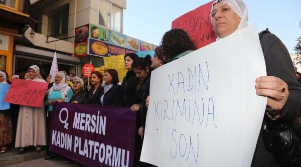 Kadin Cinayetlerini Protesto Ettiler