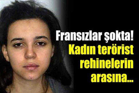 Kadın saldırgan polisin elinden kaçtı