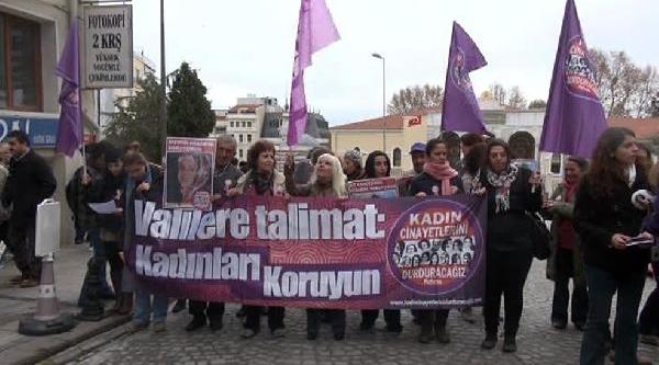 Kadinlarin Öldürülmemesi Için Valiliğe Dilekçe Verdiler