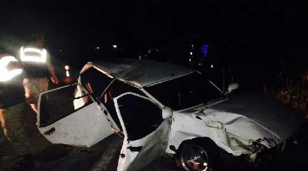 Kadirli'de Trafik Kazası: 1 Ölü, 2 Yaralı