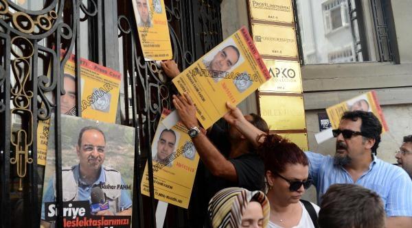 Kadumi İçin Suriye Başkonsolosluğu Önünde Eylem