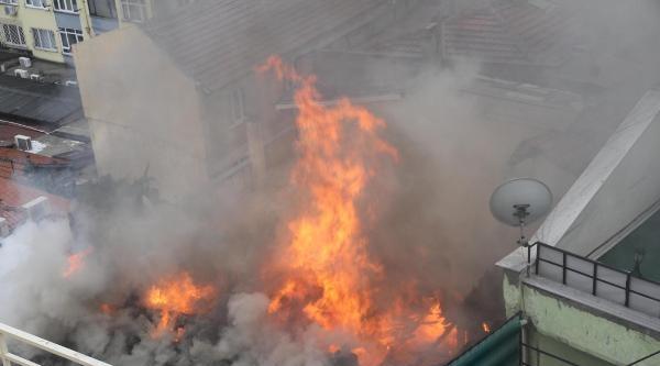 Kafede Korkutan Yangın