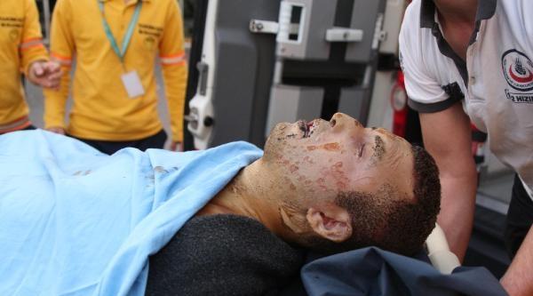 Kağıthane'de Patlama: 1 Yaralı