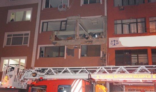 Kağıthane'de Patlama: 1 Ölü
