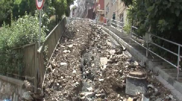 Kağıthane'de Su Baskını