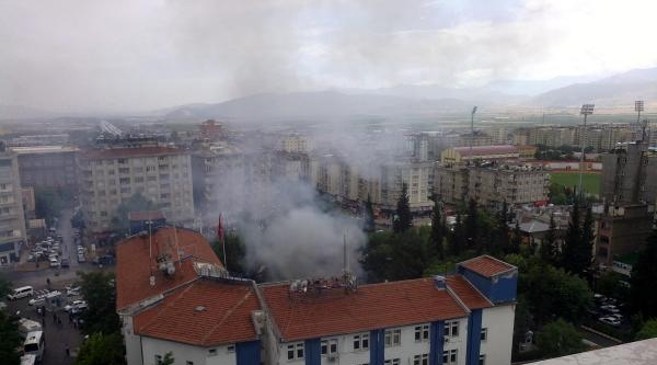 Kahramanmaraş Emniyet Müdürlüğü Poligonunda Patlama, Yaralılar Var (fotoğraflar)