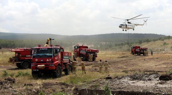 Kahramanmaraş'ın Ormanlarında Yangın Nöbeti