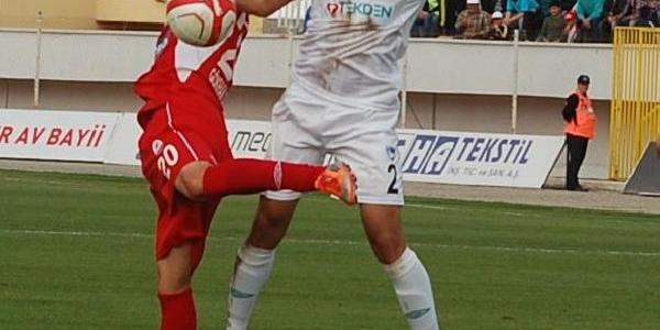 Kahramanmaraşspor - Denizlispor: 0-2