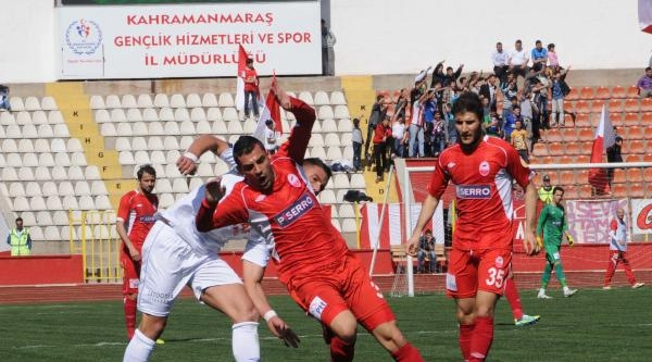 Kahramanmaraşspor-fethiyespor: 1-3