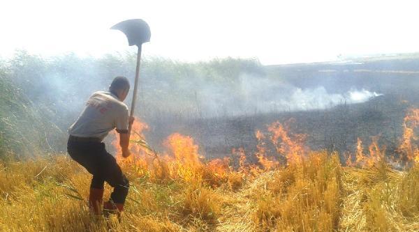 Kahramanmaraş'ta 1 Günde 23 Anız Yangını Çikti