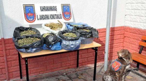Kahramanmaraş'ta 33 Kilo 700 Gram Esrara 2 Gözaltı