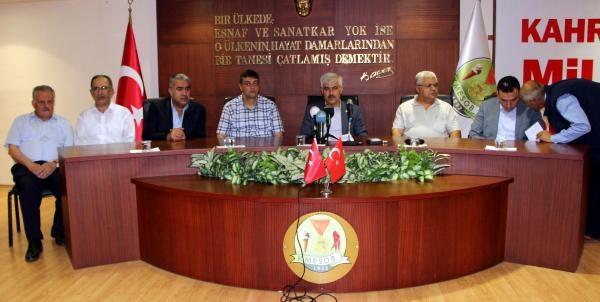 Kahramanmaraş'ta 95 Stk'dan Erdoğan'a Destek