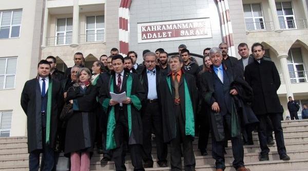 Kahramanmaraş'ta 'bağimsiz Avukatlar'dan Eylem