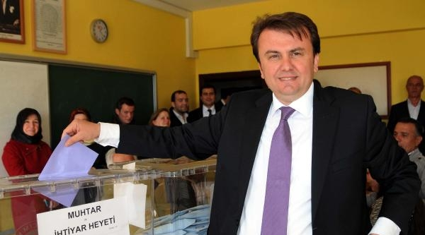 Kahramanmaraş'ta Başkan Adayları Oylarını Kullandı