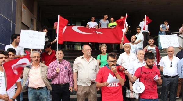 Kahramanmaraş'ta Bayrak Eylemi