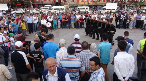 Kahramanmaraş'ta Davullu-zurnalı Erdoğan Kutlaması