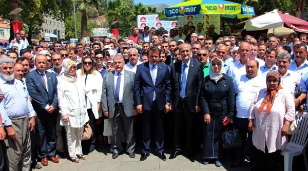 Kahramanmaraş'ta Erdoğan'a Destek Mitingi