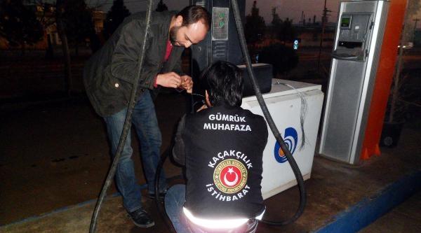 Kahramanmaraş'ta Kaçak Akaryakıt İstasyonu Mühürlendi