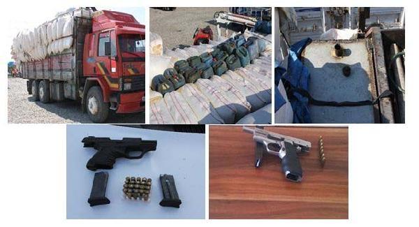 Kahramanmaraş'ta Kaçak Akaryakıt Ve Silah Operasyonu: 2 Gözaltı