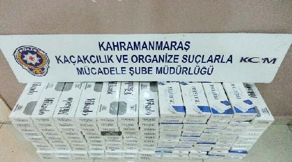 Kahramanmaraş'ta Kaçak Sigara Operasyonu: 2 Gözaltı