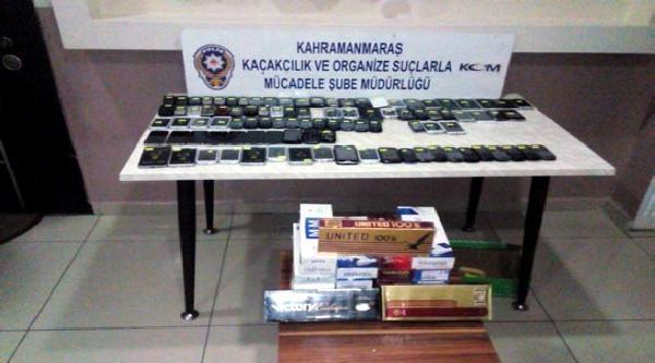 Kahramanmaraş'ta Kaçakçılığa 7 Gözaltı