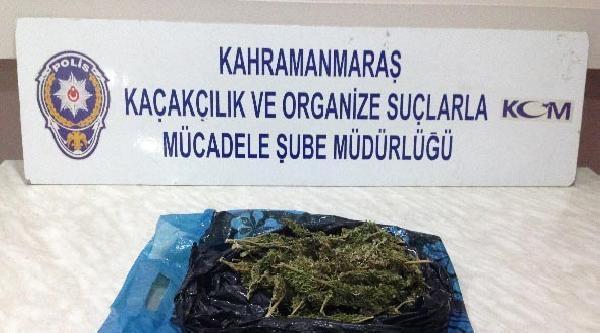Kahramanmaraş'ta Otomobilde Esrara 5 Gözaltı