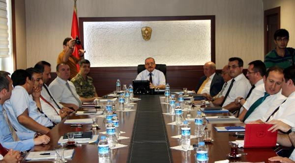 Kahramanmaraş'ta Seçim Güvenliği Toplantısı Yapıldı