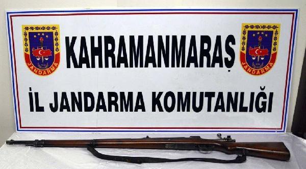 Kahramanmaraş'ta Silah Operasyonu: 4 Gözaltı