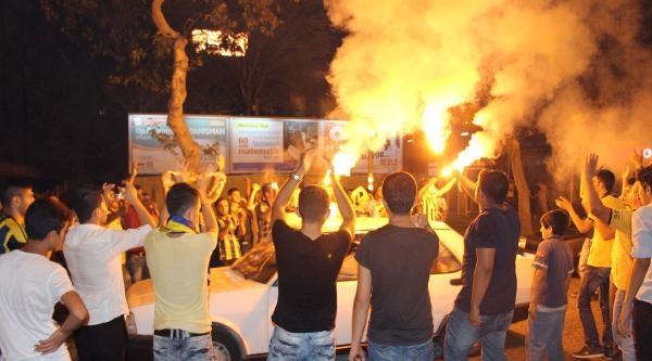Kahramanmaraş'ta Süper Kupa Sevinci