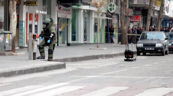 Kahramanmaraş'ta Şüpheli Çanta Paniği