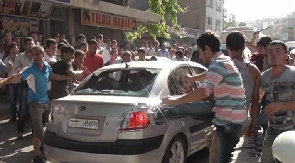 Kahramanmaraş'ta 'suriyeli İstemiyoruz' Eylemi (2)