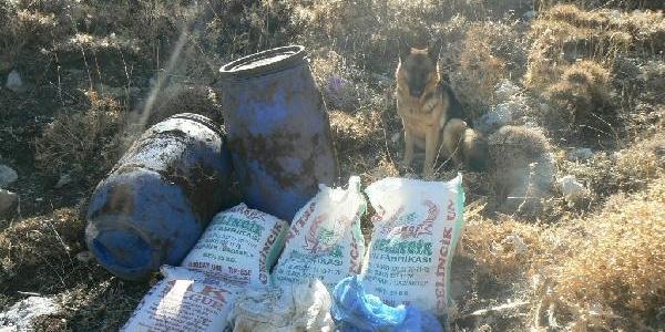 Kahramanmaraş'ta Terör Örgütüne Ait Siğinak Bulundu
