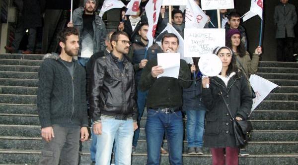 Kahramanmaraş'ta Tgb Üyelerinden Eylem