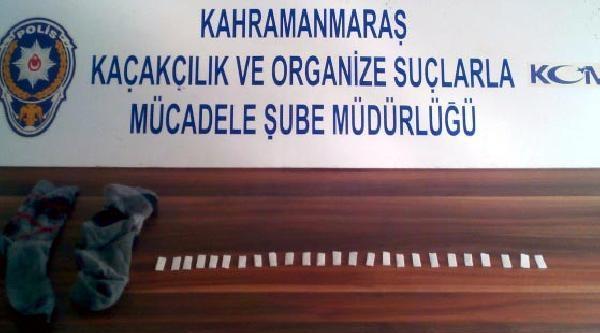 Kahramanmaraş'ta Uyuşturucuya Tutuklama