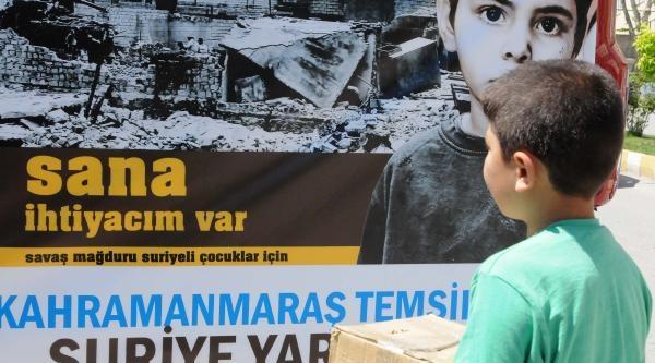 Kahramanmaraş'tan Suriye'ye 23 Ton Yardım