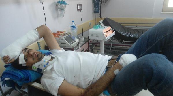 Kahta'da 2 Ayrı Kazada 8 Kişi Yaralandı