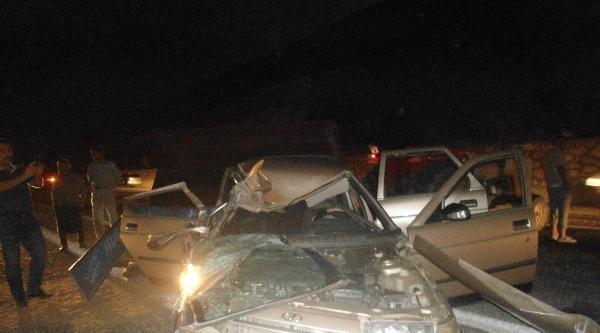 Kahta'da İki Ayrı Kaza: 2 Ölü, 4 Yaralı