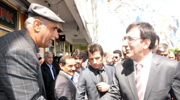 Kalkınma Bakanı Cevdet Yılmaz Güroymak'ta
