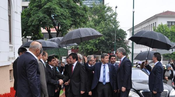 Kalkınma Bakanı Yılmaz, Bursa'da