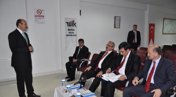 Kalkınma Bakanı Yılmaz, Bursa'da (3)