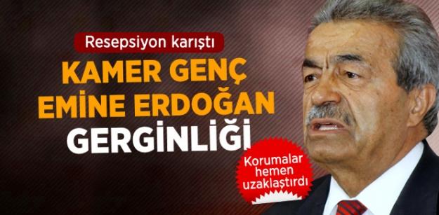 Kamer Genç, Emine Erdoğan Gerginliği!